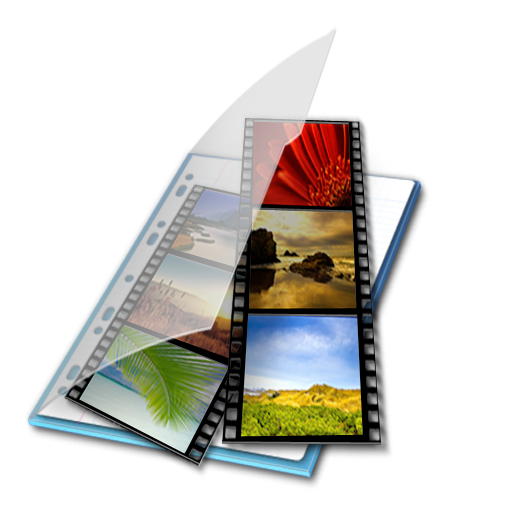 bleu, mes, videos icon