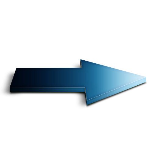 bleu, suivant icon