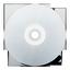avant, blanc, cd icon