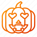 emoji, emoticon, halloween, lantern, lovely, pumpkin, spooky icon