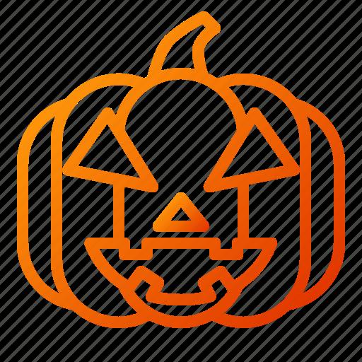 emoji, emoticon, halloween, lantern, pumpkin, scary, spooky icon