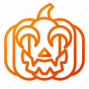 clown, emoji, emoticon, halloween, lantern, pumpkin, spooky icon