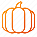 fruit, halloween, pumpkin, thanksgiving, vegetable icon