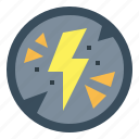bolt, electricity, light, lightning, thunder icon