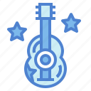 guitar, music, rock, song icon