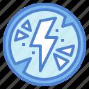 bolt, electricity, light, lightning, thunder