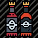 alcohol, beer, bottle, food