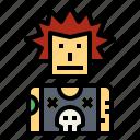 avatar, profile, punk, user icon