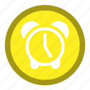 alarm, attention, clock, period, timer, watch icon
