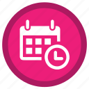 alarm, alert, clock, date, stopwatch, timer, wait icon