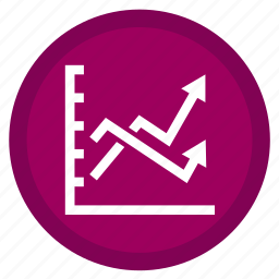 bank, bars, dollar, finance, graph, stats, trends icon