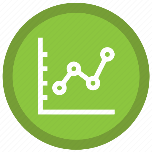 business, data, document, graph, money, stats, trends icon
