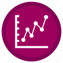 data, document, folder, graph, stats, text, trends icon