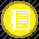 notebook, school, stationary, note, paper, sheet, university