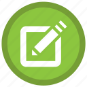 creative, draw, files, paper, pen, tab, touchpad icon