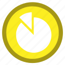 analysis, bar, chart, flag, pie, section, slice icon