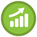 barchart, dollar, financial, graph, payment, shopping icon