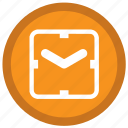 clock, date, month, remind, square, timer icon
