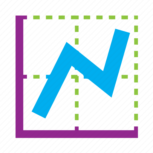 graph, line, stats, trends icon