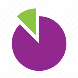 chart, circle, pie, section, slice icon