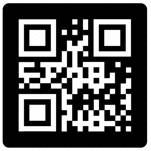 code, label, qr, quick, response, sign icon
