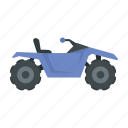 bike, quad, dirt, atv, sport, summer, nature icon