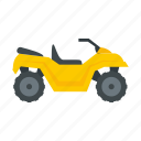atv, bike, quad, car, person icon