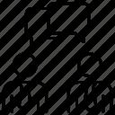 brain, coaching, mentoring, talk icon
