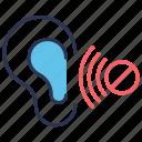 effective, listen, listener, listening, otology icon