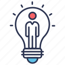 business, entrepreneur, entrepreneurship, idea icon