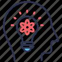 business, idea, innovate, innovative icon