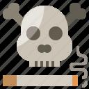 addiction, cigarettes, death, healthcare, medical, nicotine, tobacco icon
