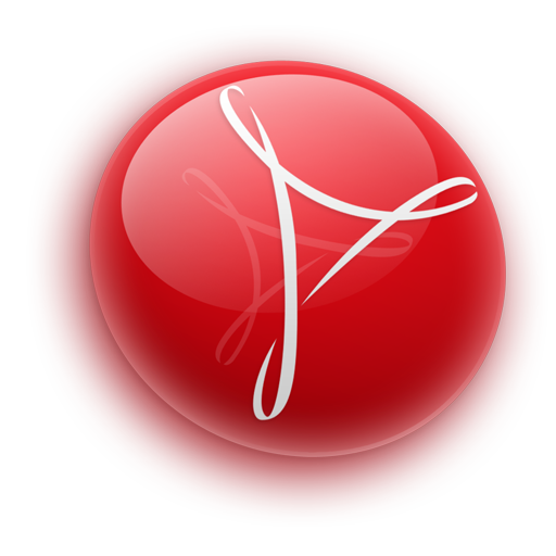 acrobat, cs3, reader icon