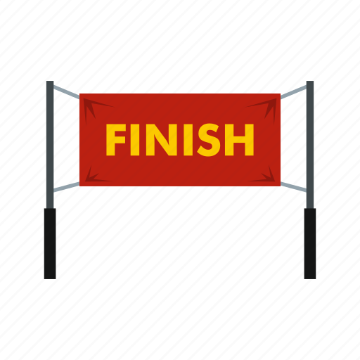 Champion, finish, formula, gate, race, road, sport icon - Download on Iconfinder