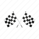 chequered, flag, race, sport, success, victory, winner