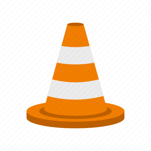 cone, construction, road, safety, street, traffic, work icon