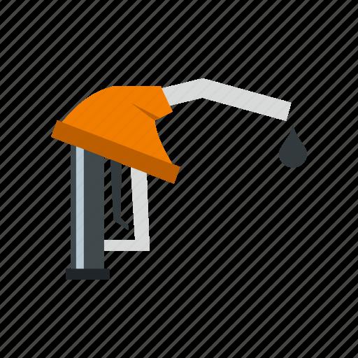 fuel, gas, hose, nozzle, oil, pump, station icon