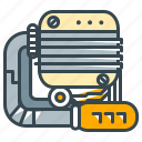 engine, motor, racing, repair, vehicle icon