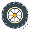 racing, repair, tire, vehicle, wheel icon