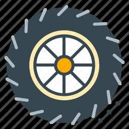 racing, repair, tire, vehicle, wheel icon