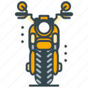 bike, motorbike, motorcycle, racing, vehicle icon