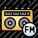 fm, radio, entertainment, music