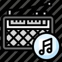 music, radio, cassette, player, retro