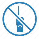 cancel, enter, radio, set icon