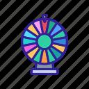 bingo, drum, gamble, loto, lottery, raffle, ticket icon