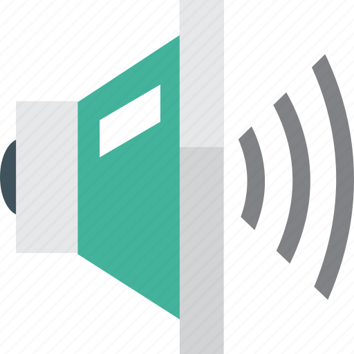 control, full, loud, player, sound, speaker, volume icon