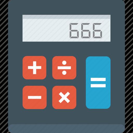 calc, calculation, calculator, education, math, schools, tools icon