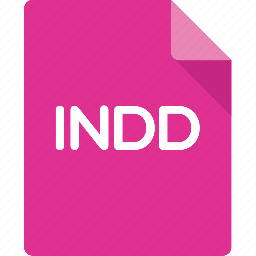 document, extension, file, format, indd, indesign icon