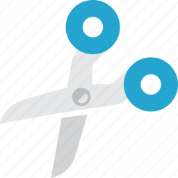 art, cartoon, cut, cutting, school, scissor, tool icon