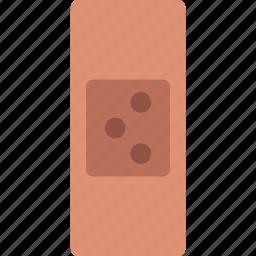 aid, bandage, care, health, sticker, wound icon